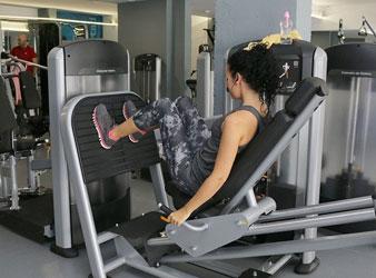 Ort Nr. 8: Fitnessstudio