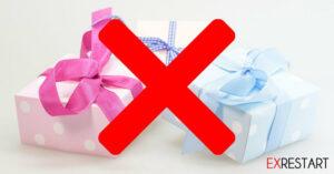 Hier verrate ich Dir 10 No-Go-Geschenke für Frauen.