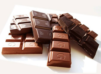 Lebensmittel Nr. 3: Schokolade